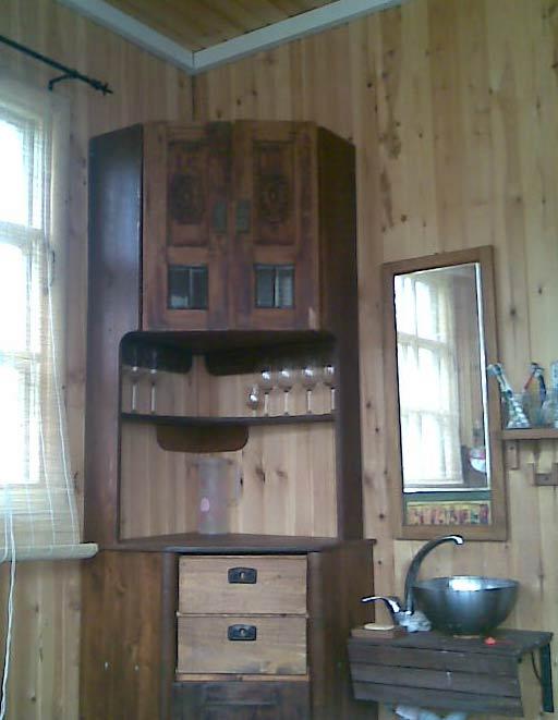 переделка старой лакированной мебели своими руками.